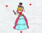 Dibujo Moda de época pintado por sheyla13