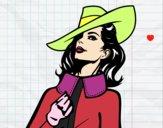 Dibujo Mujer sofisticada pintado por sheyla13