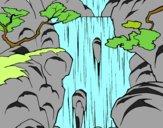 Dibujo Cascada pintado por sheyla1