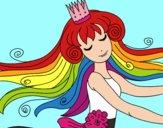Dibujo Dulce princesa pintado por Joddy
