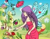 Dibujo Sílfide pintado por sheyla1