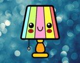 Dibujo Una lámpara de mesa pintado por sheyla1