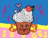 Dibujo Cupcake delicioso pintado por Joddy