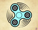 Dibujo Fidget spinner pintado por Michellinh