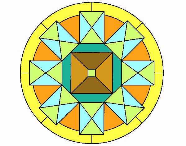 Dibujo Mandala 30 pintado por emilili