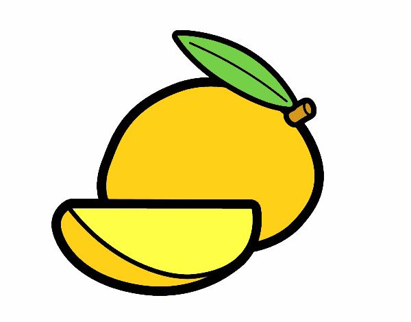 Dibujo De Mango Pintado Por Cesar1730 En Dibujosnet El Día 07 08 17