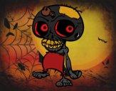 Calavera zombie