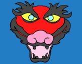 Dibujo Dragón 5 pintado por vale26