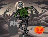 Esqueleto contento