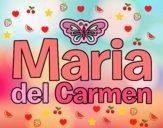 Dibujo Maria del Carmen pintado por Ane1021