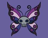 Dibujo Mariposa Emo pintado por zazukeichi
