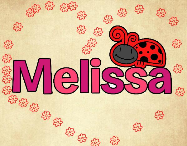 Dibujo Melissa pintado por carrusel