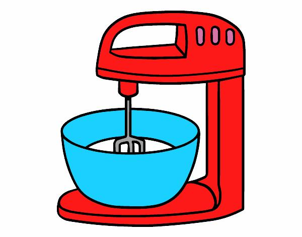 Dibujo de robot para reposteria pintado por clarinda en - Robot de cocina cocimax ...