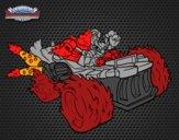 Dibujo Spitfire con Hot Streak pintado por wuilde
