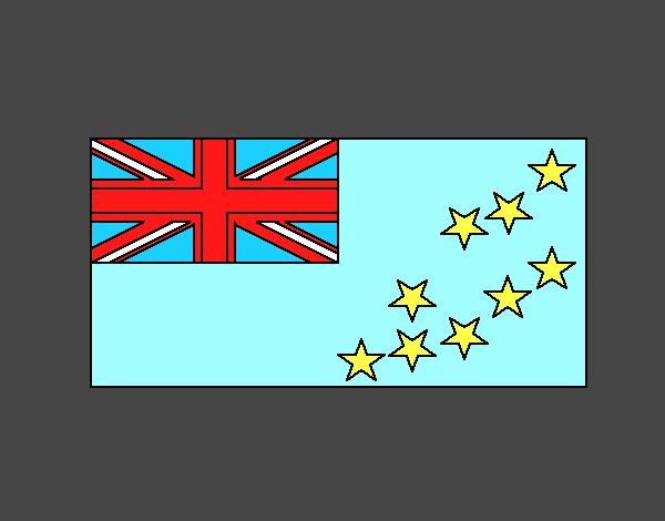 Dibujo Tuvalu pintado por vale26
