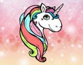 Dibujo Un unicornio pintado por Ane1021