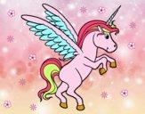 Dibujo Unicornio joven pintado por Ane1021
