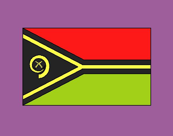 Dibujo Vanuatu pintado por vale26