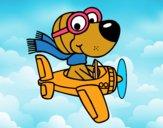 Dibujo Perro piloto pintado por Xiomara21