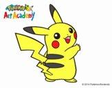 Pikachu de espaldas