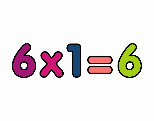 6 x 1
