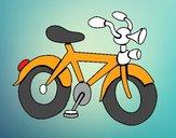 Bicicleta con bocina