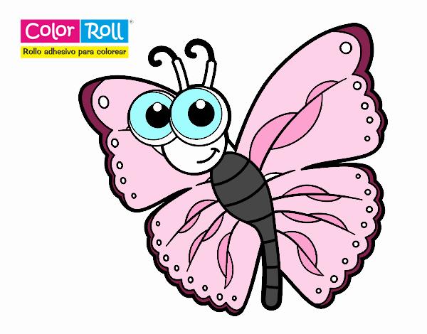 Dibujos De Mariposas Infantiles A Color: Dibujos De Mariposas De Colores