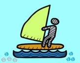 Señal de windsurf