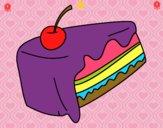 Trozo de pastel