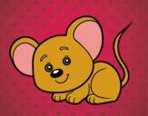 Dibujo Un ratoncito pintado por salomerua