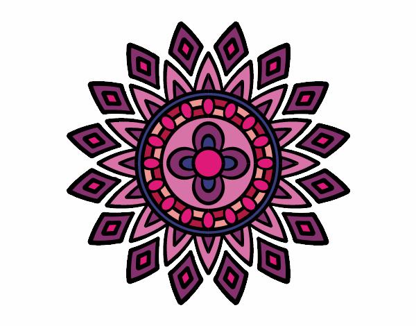 Mandala destellos