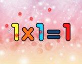 1 x 1