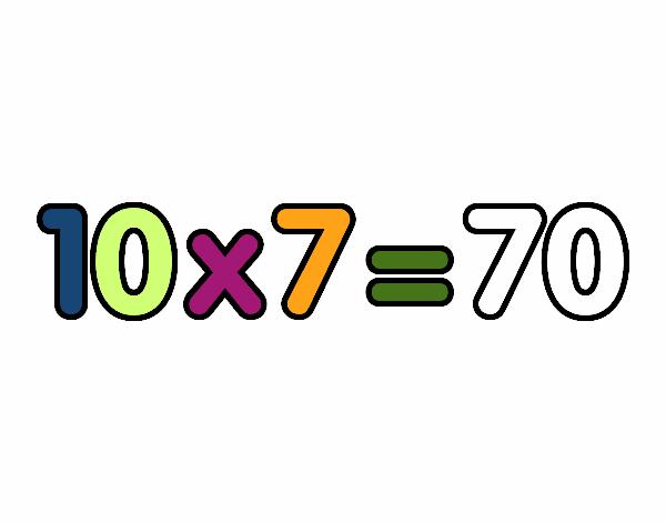 10 x 7