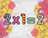2 x 1