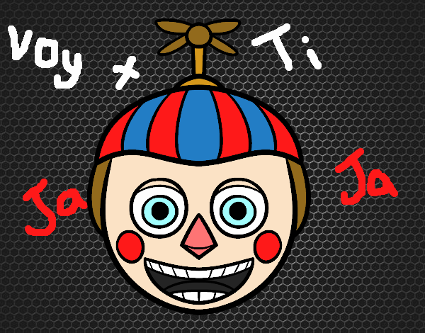 Dibujo Balloon Boy de Five Nights at Freddy's pintado por Sosa2005