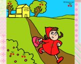 Dibujo Caperucita roja 3 pintado por Sosa2005