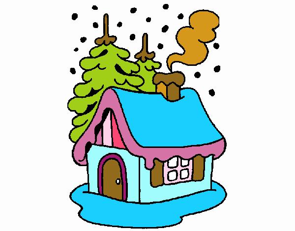 Casa en la nieve