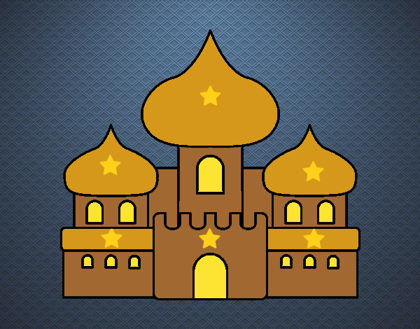 Dibujo Castillo árabe pintado por Sosa2005