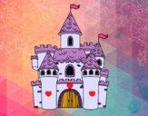 Dibujo Castillo de fantasía pintado por Sosa2005