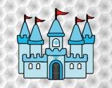 Dibujo Castillo fantástico pintado por Sosa2005
