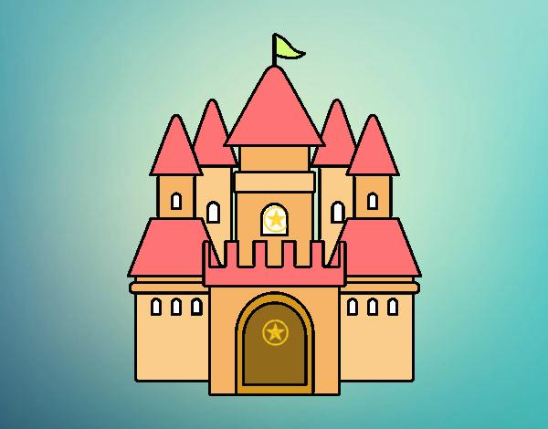 Dibujo Castillo medieval 2 pintado por Sosa2005