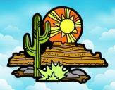 Dibujo Desierto de Colorado pintado por LISYERLYS