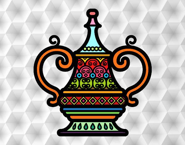 Dibujo Jarrón Árabe pintado por Sosa2005