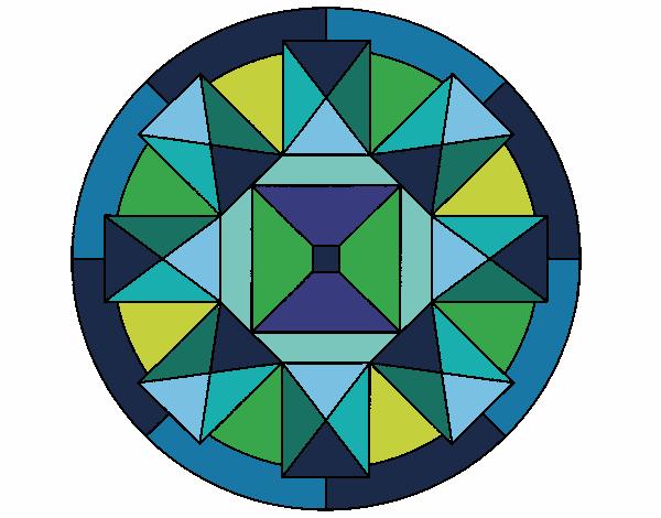 Dibujo Mandala 30 pintado por bonfi