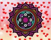 Dibujo Mandala mosaico griego pintado por Luis03031