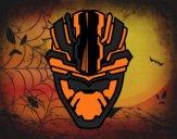 Dibujo Máscara alienígena pintado por Mondragon1
