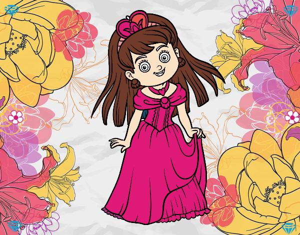 Dibujo Princesita encantadora pintado por Sosa2005