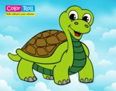 Dibujo Tortuga Color Roll pintado por LISYERLYS