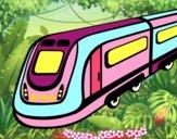 Dibujo Tren de alta velocidad pintado por isabel2k