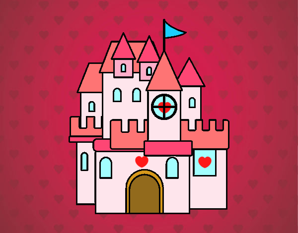 Dibujo Un castillo pintado por Sosa2005